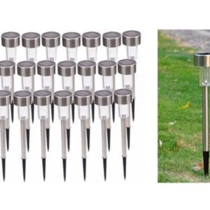 STAINLESS STEEL OUTDOOR LED SOLAR POWERED